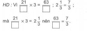 Phép nhân và phép chia hai phân số