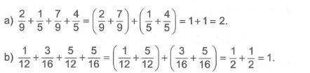 Phép cộng và phép trừ hai phân số Toán 5