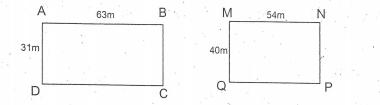 Chu vi hình chữ nhật - Toán lớp 3