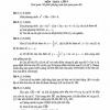 Đề kiểm tra học kỳ II toán 9 Đà Nẵng năm học 2017-2018
