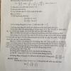 Đề thi thử vào lớp 10 môn Toán Huyện Thanh Oai