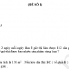 ôn tập hè toán 5