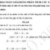 Các bài toán giải bằng phân tích cấu tạo số