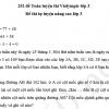 252 đề Toán luyện thi Violympic lớp 3