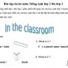 Bài tập ôn hè lớp 1 lên lớp 2