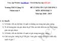 Đề cương ôn tập Toán 9 HK I