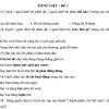 Bài tập ôn hè môn Tiếng Việt lớp 2