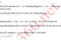 Đề tham khảo học kỳ 2 môn toán 9