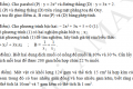 Đề tham khảo tuyển sinh 10 môn toán