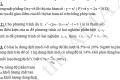 Đề tham khảo thi vào 10 môn toán
