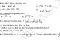 Bài kiểm tra Đại số 9 chương 1