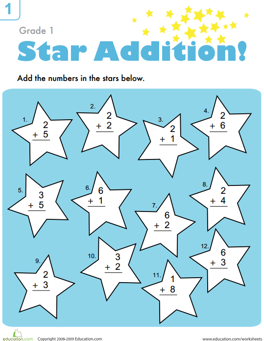 Addition Mission: Facts Practice
