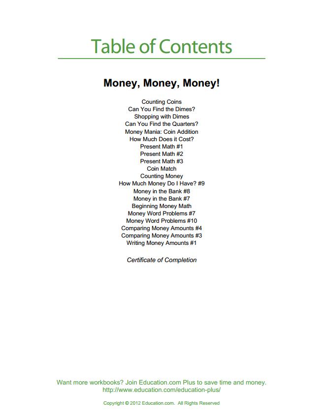 English for kids - money