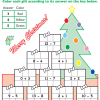 Colorful Christmas Math #3