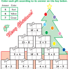 Colorful Christmas Math #5