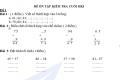 Đề ôn tập kiểm tra toán lớp 2
