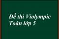 Đề thi Violympic Toán lớp 5